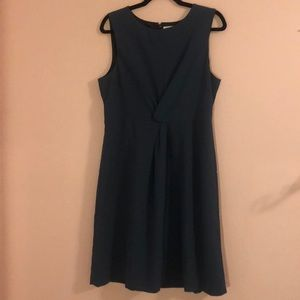 J crew factory twist waist dress